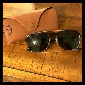 Ray Ban Sunglasses, like new! Polarized.